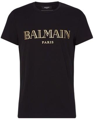 Balmain Cotton Logo T-Shirt