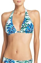 Tommy Bahama 'Fronds Floating' Reversible Halter Bikini Top