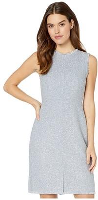 Kate Spade Tinsel Tweed Dress (Moonglow) Women's Dress