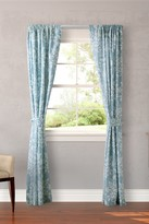 Laura Ashley Rowland Blue Curtain - Set of 2