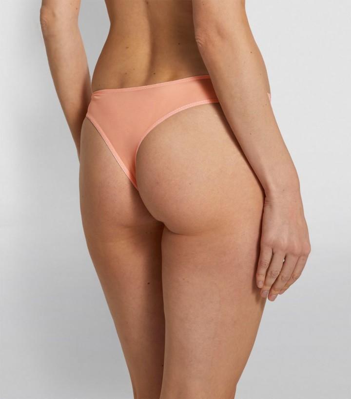 Thumbnail for your product : KATHERINE HAMILTON Lace Mesh Thong