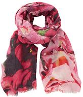 John Lewis Hydrangea Scarf, Pink Mix
