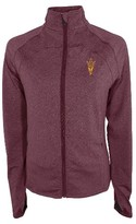 NCAA Arizona State Sun Devils Women's Synthetic Full Zip Activewear Sweatshirt