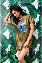 Guess Dynasty Shimmer T-Shirt Dress