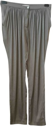 Anne Valerie Hash Grey Synthetic Trousers