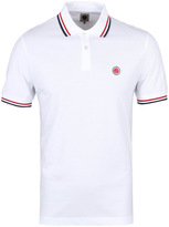 Pretty Green White Tipped Short Sleeve Pique Polo Shirt