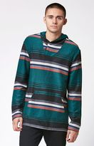 PacSun Sequoia Striped Hooded Poncho