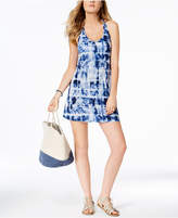 Miken Juniors' Strappy Tie-Dyed Cover-Up, Created for Macy's Women's Swimsuit