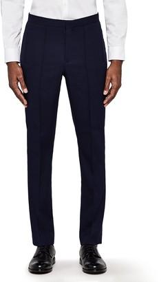 Meraki Amazon Brand Men's Skinny Fit Smart Pintuck Trousers
