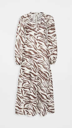 Zimmermann Fiesta Billow Sleeve Dress