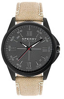 Sperry Men ́s Kinney Khaki Strap Watch