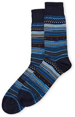 Missoni Geometric Pattern Crew Socks