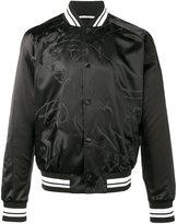 Valentino panther bomber jacket - men - Cotton/Polyamide/Polyester/Viscose - 46