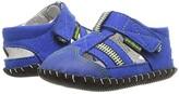 pediped Gustan Original (Infant) (Blue/Lime) Boy's Shoes
