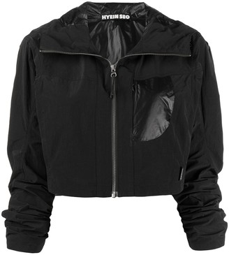 Hyein Seo Zip-Up Cropped Jacket