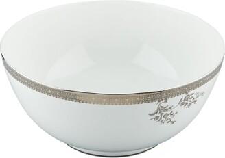 Wedgwood Lace Platinum Salad Bowl (25Cm)