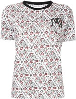 J.W.Anderson floral print logo T-shirt