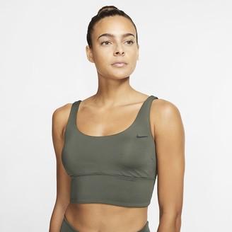 Nike Women's Scoop Neck Midkini Swim Top Essential