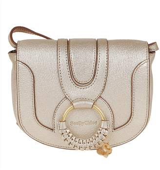See by Chloe Metallic Bubble Leather & Smooth Cowhide