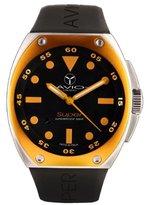 Avio Men's SA AC 1002 Super Tonneau Stainless Steel Case Aluminum Interchangeable Bezel Watch