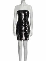 Thumbnail for your product : Blumarine Strapless Mini Dress Black