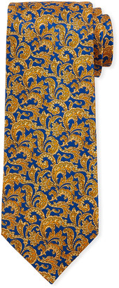 Stefano Ricci Men's Large-Paisley Luxe Silk Tie