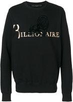 Billionaire branded lion sweater