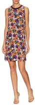 Emilio Pucci Silk Print Split Shift Dress