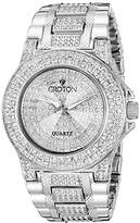 Croton Women's CN207538RHPV Balliamo Analog Display Quartz Watch
