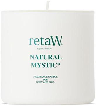 retaW Natural Mystic Fragrance Candle, 145 g