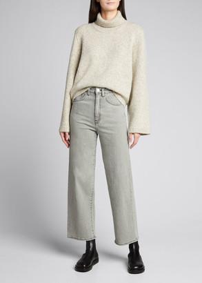 Totême Ravenna Wool-Blend Turtleneck Sweater
