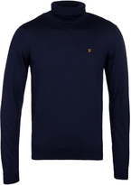 Farah Yale Navy Turtle Neck Sweater