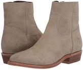 Frye Billy Inside Zip Bootie (Black Soft Full Grain Leather) Women's Boots