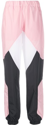 Kirin Panelled Colour-Blocked Track Pants