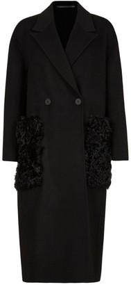 AllSaints Wool-Blend Maddie Coat