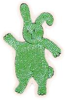 Olympia Le-Tan beaded bunny patch - women - Wool Felt/plastic - One Size