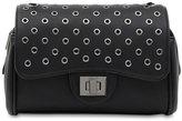 Marc B Knightsbridge Black Rivets Handbag