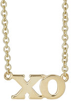 "Jennifer Meyer Women's ""XO"" Charm Necklace"