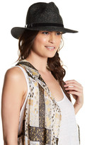 BCBGMAXAZRIA Choker Panama Hat