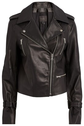 Paige Leather Rayven Jacket