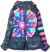 Desigual Girls' Coat Grusoni, Sizes 5-14
