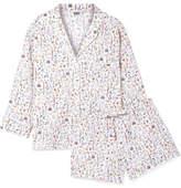 Sleepy Jones - Marina And Paloma Printed Cotton-poplin Pajama Set - White