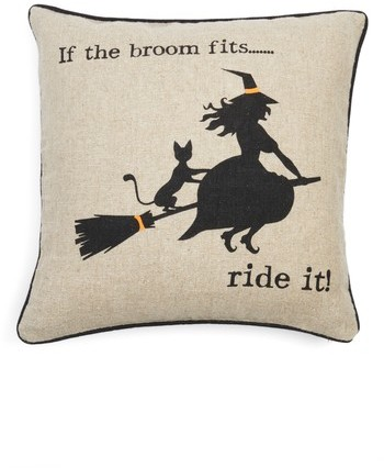 Levtex Witty Witch Pillow