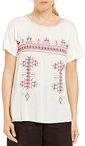 Westbound Embroidered T-Body Top