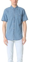 Obey Keble II Short Sleeve Denim Shirt