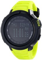Freestyle Unisex 103184 Mariner Round Yacht Time Black LCD Display Watch