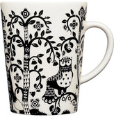 Iittala Taika 16 Oz Mug - White/Black