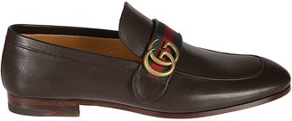 Gucci Logo Plaque Loafers