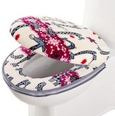 Noble Bathroom Toilet Mat Lovely WC Mat-10(Set of Two)
