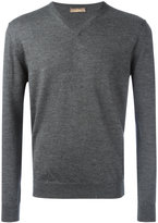 Cruciani V neck jumper - men - Wool - 56